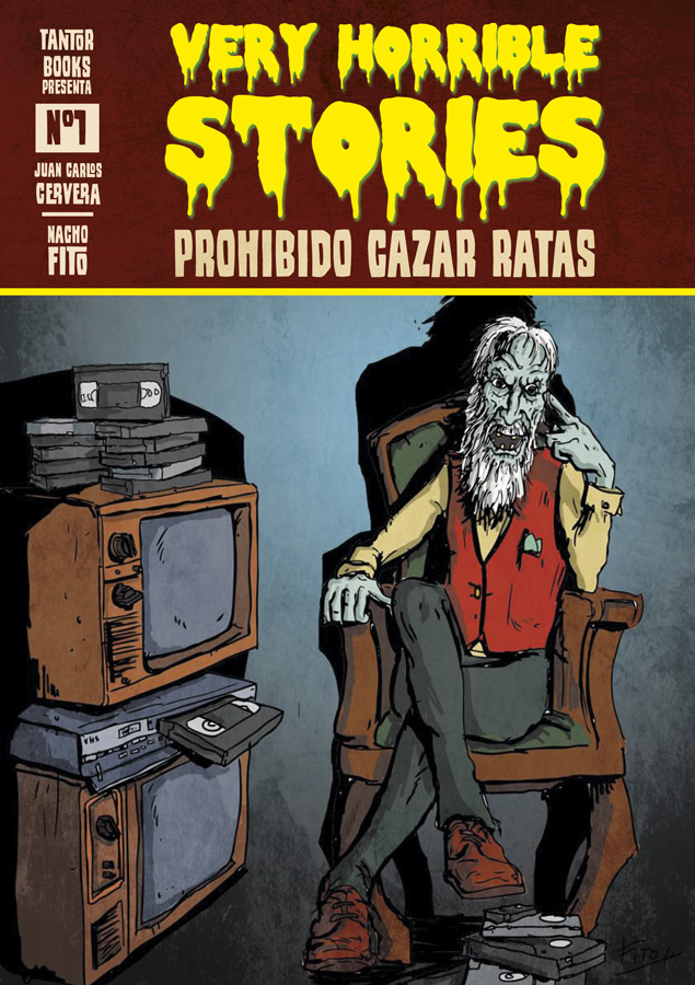 Book Cover: Very Horrible Stories nº1