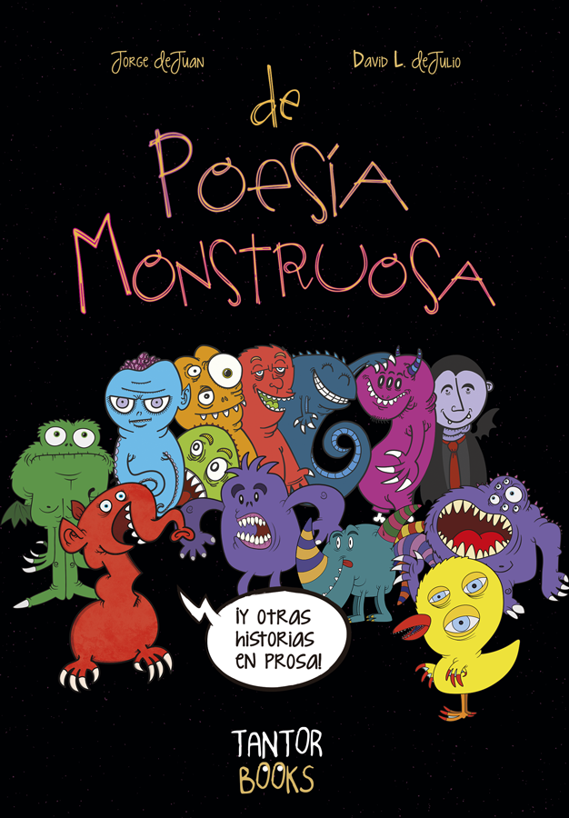 Book Cover: De Poesía Monstruosa