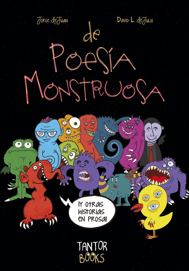Book Cover: De Poesía Monstruosa