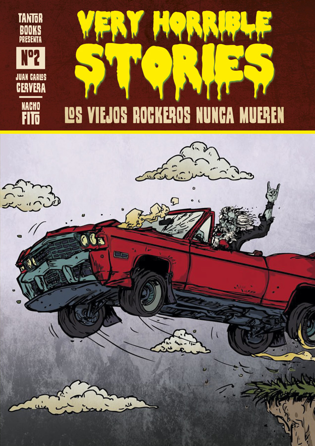 Book Cover: Very Horrible Stories nº2