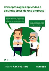 Book Cover: Conceptos ágiles aplicados a distintas áreas de una empresa