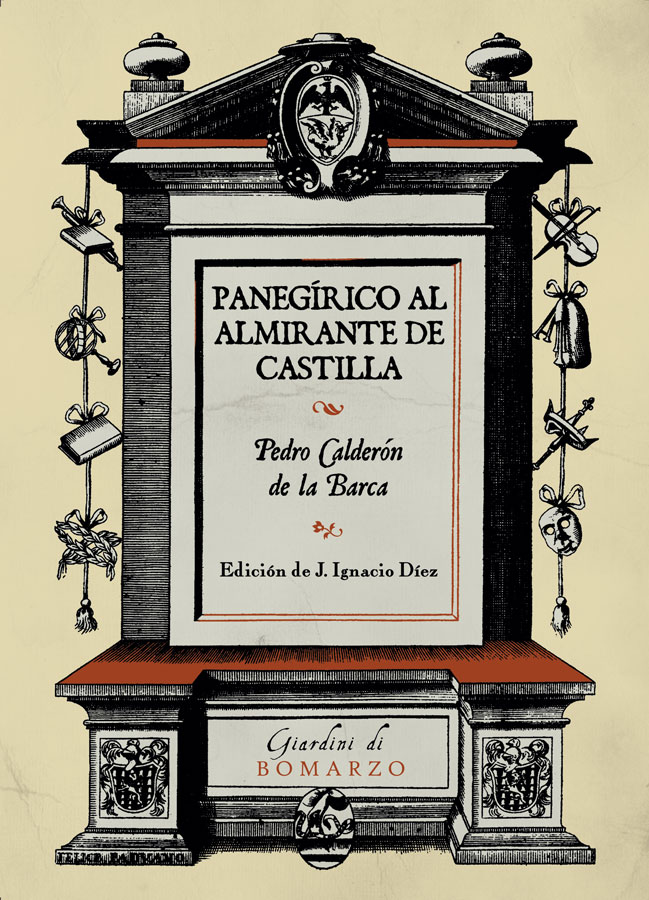Book Cover: Panegírico al Almirante de Castilla
