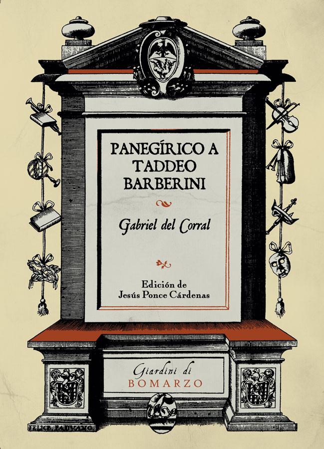 Book Cover: Panegírico a Taddeo Barberini